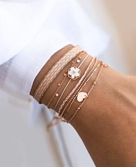 SUMMER LOVING Armband Rosa