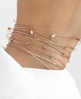 SHINY DETAILS  Armband Rosé