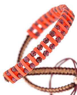 GEMMY NIZZA Armband Rot