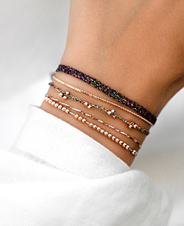 CANDENCIA Armband Schwarz