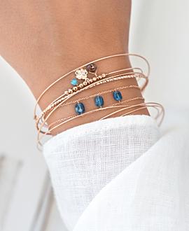 POLYGEM  Armband Blau
