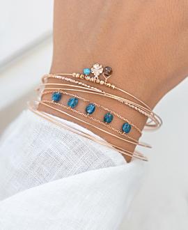 BELLE  Armband Aqua