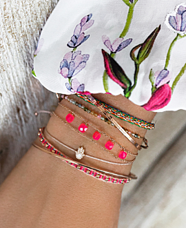 BELLE  Armband Pink