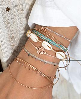 VIBRANT MIX Armband Blau