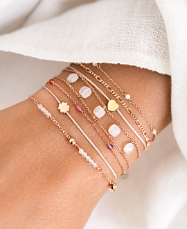 BELLE  Armband Weiß