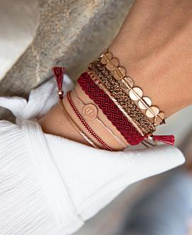 ANTHEIA Armband Bordeaux