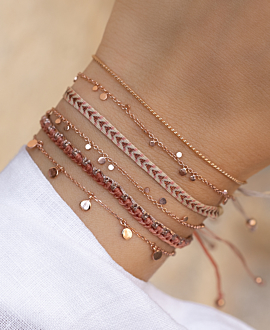 CADENCIA  Armband Rosa