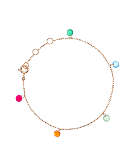FLYING GEMS|Armband Rosé