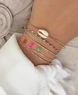 POLYGEM  Armband Pink