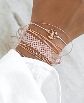 HIRSCH Armband Rosé
