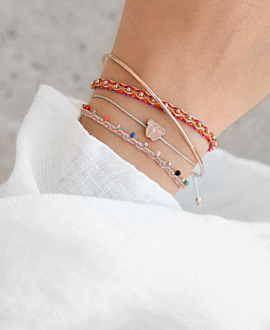 BULLDOG Armband Rosé