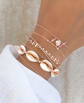 SEASHELL  Armband Rosé