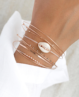 KAURI Armband Topas