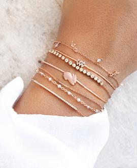 PINK BUNNY Armband Rosé