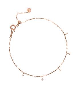 DIAMOND Armband|10K Roségold
