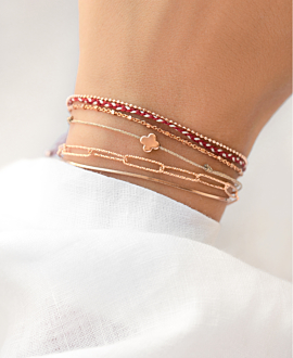 SUMMER LOVING Armband Rot