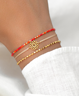 SAHASRARA  Armband Sand