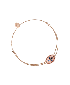 SAPPHIRE CROSS|Armband Rosé