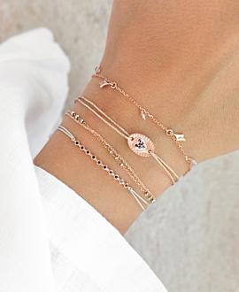 SAPPHIRE HEART Armband Rosé