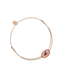 SAPPHIRE HEART|Armband Rosé