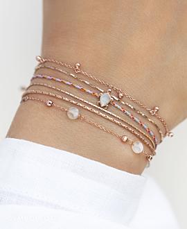SEA TURTLE ROSÉ  Armband Blau