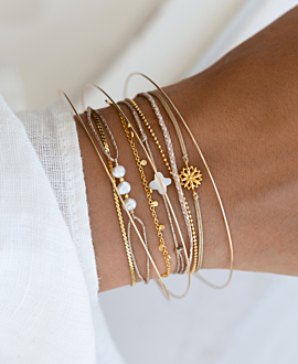 PEARL Armband Gold