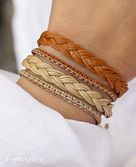 TRENZA  Armband Rosa