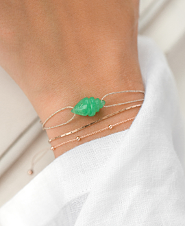 SEASHELL  BRACELET GREEN