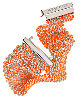SILKY SHINE  Armband Orange