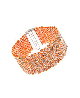SILKY SHINE|Armband Orange