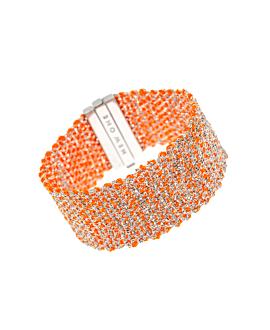 SILKY SHINE  Armband Orange
