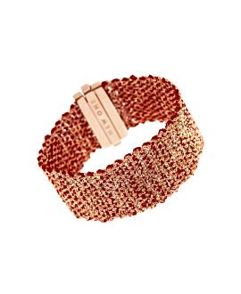 SILKY SHINE  Armband Rot