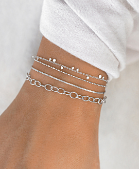 ESSENTIAL  Armband Silber