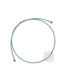FLOWER OF LIFE|Armband Mintgrün