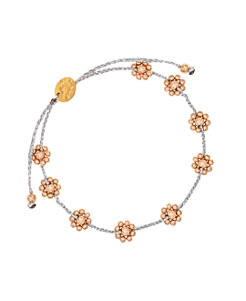 FLORES|Armband Silber
