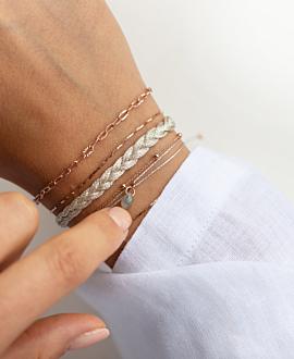 BOHEMIAN VIBE  Armband Silber
