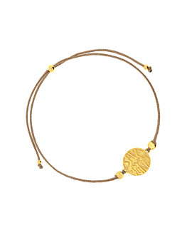 SAVE OUR PLANET|Armband Gold