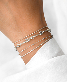 SHINY TANGLE  Armband Silber