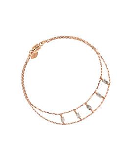 DIAMOND SHADOWS|Armband Rosé