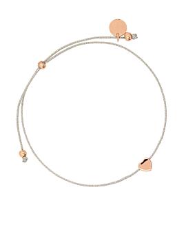 TINY HEART|Armband Rosé