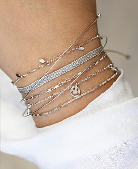 ESSENTIAL  Armband Silber