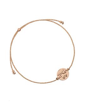 Glücksbringer|Armband Rosé
