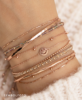 MR. BRIGHTSIDE  Armband Gold