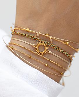 SOLE  Armband Gold