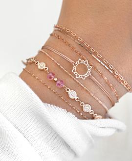 SUNSHINE Armband Rosa