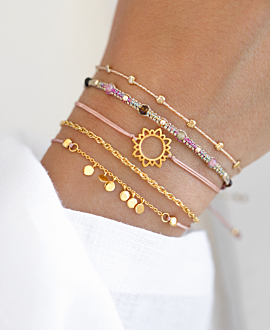 SUNSHINE Armband Gold