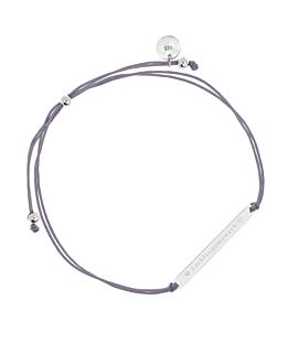 LIEBLINGSMENSCH  Armband Grau