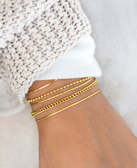 CURB CHAIN  Armband Gold