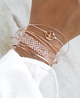 STAG  Armband Silber