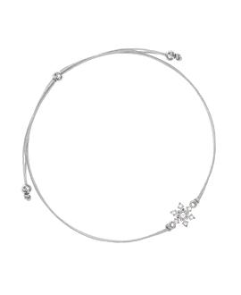 TOPAZ SNOWFLAKE|Armband Silber